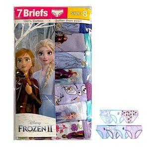 Girls' Disney Frozen 7pk of Briefs / Underwear